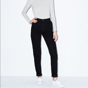 American Apparel High Waist Mom Jean